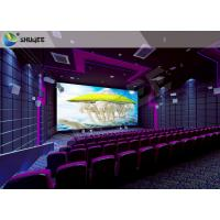 Wholesale High Definition  Sound Vibration Cinema With Big Screen Dual Projectors from china suppliers