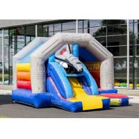 China Fantastic Universe Trip Commercial Bounce Houses With Rocket Slide CE UL on sale