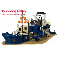 Buy cheap Small Pirates Ship Theme Children ' S Outdoor Playground Equipment For Kids from wholesalers