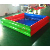 Wholesale Commercial Grade Double Layers Colorful Inflatable Water Swimming Pool for water walking ball from china suppliers