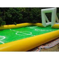 Wholesale Entertainment inflatable football game / Soccer Field for Playing Football Games from china suppliers