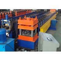 Wholesale Colored Steel Highway Guardrail Roll Forming Machine , Tube Forming Machine  from china suppliers