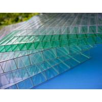 Wholesale Impact Resistance Greenhouse 6mm Twin Wall Polycarbonate Sheet With UV Coated from china suppliers