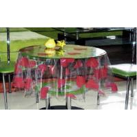 Wholesale Custom Clear PVC Table Cloth With Heart Printed For Coffee Shop from china suppliers