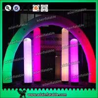 Wholesale 3M Valentine's Decoration Inflatable Arch Lighting Inflatable Column With RGB Color from china suppliers