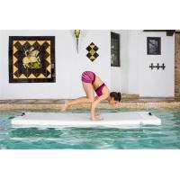 Wholesale DWF Inflatable Yoga Mat , Commercial Balance Training Floating Tumbling Mat from china suppliers