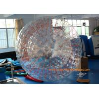 Wholesale 2.8*1.8m Transparent Inflatable Zorb Ball Inflatable Pool Zorb Hamster Ball from china suppliers