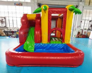 Wholesale Commercial Backyard Kids Bouncer Inflatable Castle Bounce House Combo from china suppliers