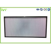 Buy cheap H10 - H14 Efficiency Hepa Filter Replacement , Pleated Panel Air Filters Easy To from wholesalers