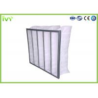 Wholesale Eco Friendly Bag Air Conditioner Filters , Bag Filters For HVAC Efficiency G3 - F9 from china suppliers