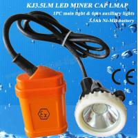 Wholesale 3.5Ah Rechargeable LED Mining Light , Safety Lamp For Miners 4000lux A from china suppliers