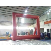 China Rent Inflatable Movie Screen / Outdoor Portable Inflatable Projector Screen on sale