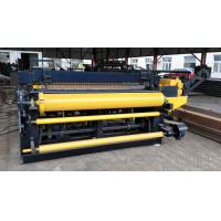 Wholesale PLC Control Fully Automatic Welded Wire Mesh Machine With Hole Size Is Adjustable from china suppliers