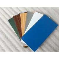 Wholesale Glossy Blue ACP Aluminium Composite Panel 2000mm Width With 0.30mm Alu Thickness from china suppliers