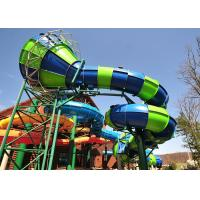 China 90 KW Power Commercial Water Slides 1 Year Warranty For Summer Holiday on sale