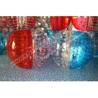Wholesale TPU Half colour Bumper ball,Bubble Soccer ball,human zorbing ball,Hamster Ball for kid from china suppliers
