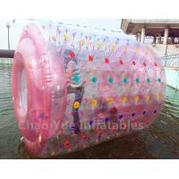 Wholesale Commercial Grade Colorful PVC Inflatable Water Roller Ball for water sports from china suppliers