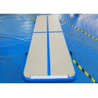 Wholesale Practical Inflatable Air Track Mat 3 X 1 X 0.1 M Electric Air Pump With Velcro from china suppliers