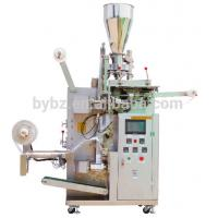 Wholesale Good price automatic inner paper tea bag with tag outer bag packing machine from china suppliers