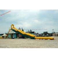 Wholesale Residential Rent Inflatable Water Slides For Adults / Backyard Water Slide from china suppliers