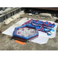 Wholesale Man Standing Meltdown Rotating Inflatable Sports Games with Controller , Kids Sweeper Arm Game from china suppliers