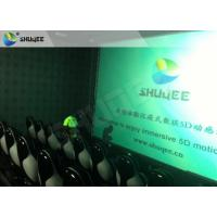 China Surreal Vision 9D Movie Theater Electric Motion System Immersive Experience For Audiences on sale