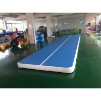Wholesale Custom Size AirTrack 3m 4m 5m 6m 8m 10m gym mat tumble track Gymnastics Mat inflatable air track from china suppliers