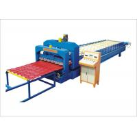 Wholesale Waterproof Metal Roof Forming MachineWith Automatic Hydyaulic Cutting Machine from china suppliers