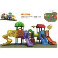 Wholesale Durable Safe Toddlers Small Combined Outdoor Swing Amusement Park Slide Playground For Sale. from china suppliers