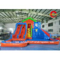 Wholesale Anti - UV 10 Meters High Big Double Inflatable Water Slide for Adults from china suppliers