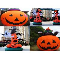 Wholesale Halloween Custom Giant Inflatables , Custom Inflatable Shapes For Decoration from china suppliers