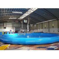 Durable Quick - Set Round Inflatable Swimming Pool For Summer Family / Outdoor
