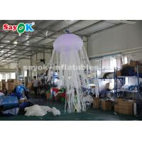 Wholesale 1.5m Glowing with 16 Colors Inflatable Hanging Jellyfish For Rental Business from china suppliers