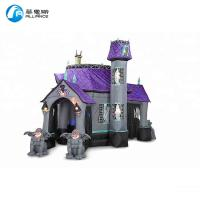 Wholesale Large Inflatable Bounce House PVC Jumping Bouncer Castle Anti UV No Fading from china suppliers