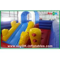 China Kids Outdoor Giant Inflatable Pool Slide Fun For Amusement Park on sale