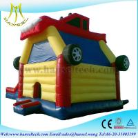 Buy cheap Hansel popular car kids jumping castle for entertainment from wholesalers