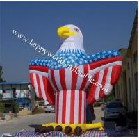 Wholesale Giant inflatable eagle, with American flag theme from china suppliers