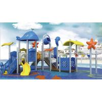 Quality Outdoor Square Play Water Playground Equipment 40 - 60 Kids Capacity for sale