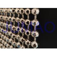 Wholesale Faceted Nickle Coated Beaded Room Dividers Hanging With 9.25mm Metal Beads from china suppliers