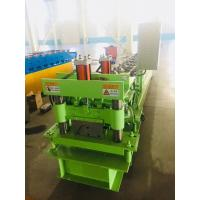 Wholesale Hydraulic Ridge Cap Roofing Roll Forming Machine Cap Roof Machine With 3kw Motor Power from china suppliers