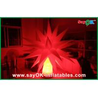 Wholesale Led Light Ground Star Tree With 12 Different Color Inflatable Lighting Decoration from china suppliers