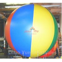Buy cheap 3m Colorful Advertising Helium Balloon with Free Logo Printing from wholesalers