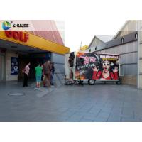Mobile 7D Movie Theater For Trailer Convenient In Shopping Mall Gate