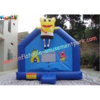 Buy cheap Rent Cool small inflatables commercial bouncy castles has two pipes for from wholesalers