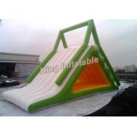 Wholesale Durable 0.9mm PVC Children Inflatable Water Slide / Iceberg for Ocean or Swimming Pool from china suppliers