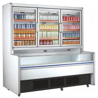 Wholesale Retail Commercial Beverage Display Refrigerator With 3 Glass Doors from china suppliers