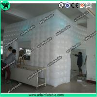 Wholesale Inflatable Cube Tent,Event Customized Inflatable Tent,Lighting Inflatable Tent from china suppliers