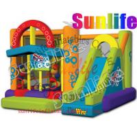 Wholesale hot sell inflatable jumper slide combo com064 from china suppliers