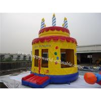 China Cake inflatable bouncy castle , inflatable jumping castle , inflatable jumping bouncer on sale