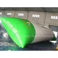 Wholesale Commercial Grade White Green 0.6mm PVC Tarpaulin Inflatable Water Blob for water tower from china suppliers
